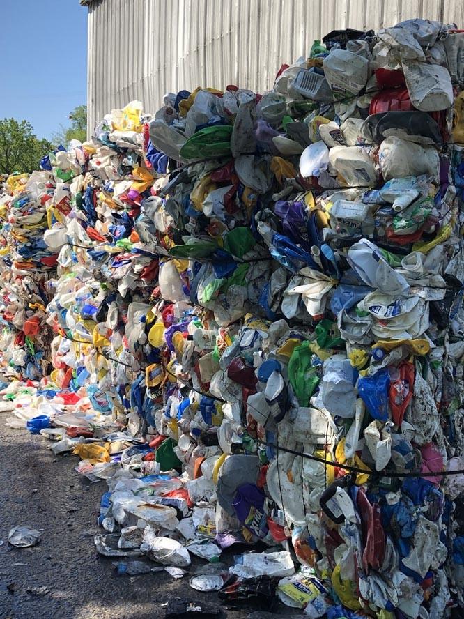 PET2Bale - Recycling Coordinators Tour Omni Recycling Facility