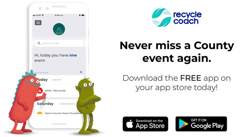 Download the Recycle Coach app